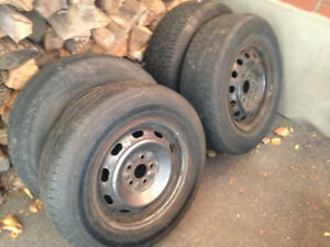 Toyota rims and tires 14""