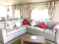 Beautiful static ABI caravan for sale along stunning Welsh Coast.
