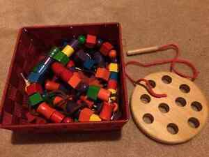 Wooden Bead Stringing and Lacing Cambridge Kitchener Area image 1