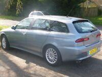 Rare Alfa Romeo 156 Veloce 2.0 JTS Sportwagon (2005)