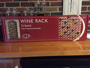 72 bottle wine rack made in Englend West Island Greater Montréal image 2