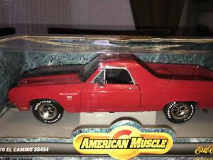 Chevrolet elcamino ss 454 diecast 1/18 Die cast