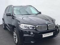 2014 64 BMW X5 3.0 XDRIVE40D M SPORT 5D AUTO 7 SEATER 309 BHP DIESEL