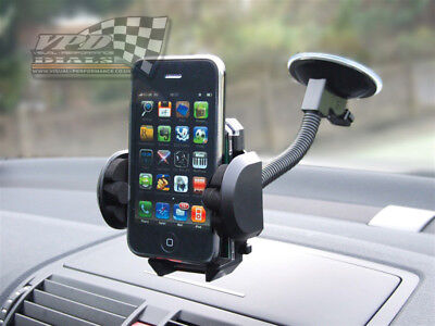 mobile Phone holder Car Phone GPS Universal 360° Holder Mount Suction windscreen