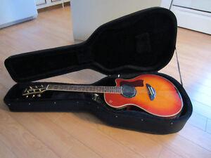 Guitare électro-acoustique Yamaha APX-7A et Ampli Peavy 75 Watts Saguenay Saguenay-Lac-Saint-Jean image 3
