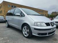 2008 (58) Seat Alhambra 2.0 TDI PD 140 Stylance 7 Seat MPV | 12 Months MOT!