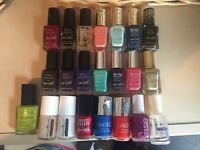 Collection of nail varnish Barry M/ Nails inc