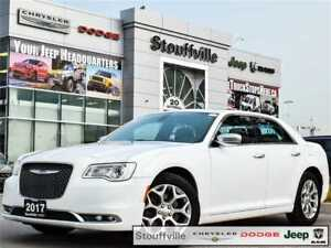 2017 Chrysler 300 C Platinum, AWD, Pano Roof, Navi, Leather