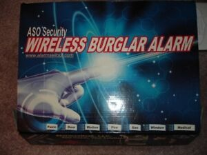 WIRELESS HOME ALARM SYSTEM  NEW IN BOX