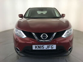 2015 NISSAN QASHQAI ACENTA PLUS DCI DIESEL SERVICE HISTORY FINANCE PX WELCOME