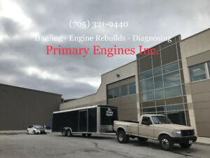 Towing & hauling - Primary Engines Inc.
