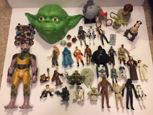 Star Wars Action Figure and Toy Lot