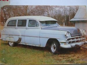 "1954 CHEVY ""BARN FIND"" WAGON"