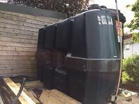Titan Plastic Oil Tank 1225L