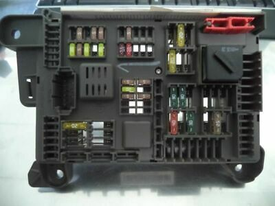 X5        2009 Fuse Box, Engine 1126023