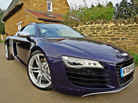 2009 AUDI R8 4.2 QUATTRO. OVER £17K OF FACTORY OPTIONS !! ONLY 26,000 MILES !!
