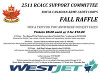 Raffle - 2511 RCACC Support Committee