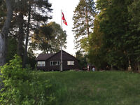 Extremely private river cabin in the woods (2 acres leveled lot)