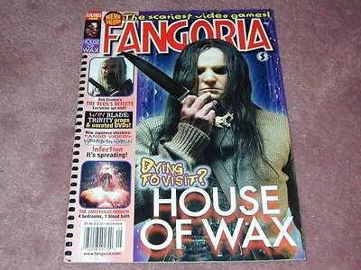 Fangoria   243  House Of Wax  Rob Zombies The Devils Rejects Free Shipping Usa