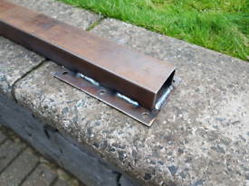 Trailer Axle Beam 4ft Wide to Suit 6 Hole Suspension Units