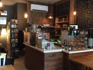 Commerce à vendre / Café de quartier