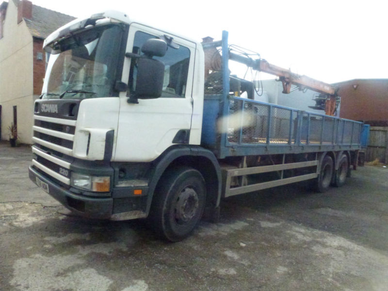 Scania 94 26 ton brick grab lorry ideal export 1999 t reg 220