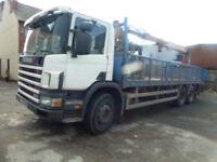 Scania 94 26 ton brick grab lorry ideal export 1999 t reg 220