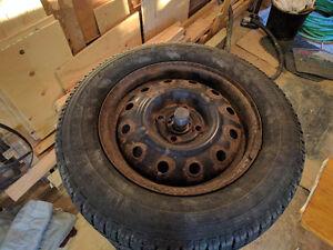 Goodyear Nordic Winter tires 185/70R14 London Ontario image 2