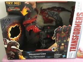 TRANSFORMERS THE LAST NIGHT TURBO CHARGER DRAGON STORM