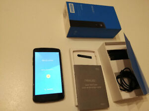 Unlocked Google Nexus 5, in perfectly working condition