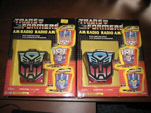 Transformers Autobot AM Radio (Brand New)