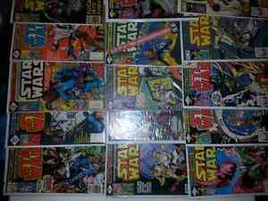 21 Star wars vintage  comics Cambridge Kitchener Area image 1