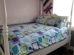 double size comforter and shams