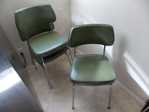 3-   old/antic Chrome Chairs from 1950s Prince George British Columbia image 1