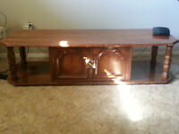 Coffee Table/TV Stand with Cupboard
