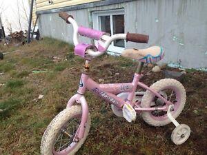 Vélo jeune enfant