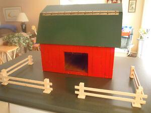 Handmade / Handcrafted / Homemade Wood Two Floor Barn