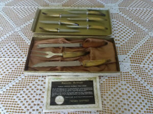 Vintage Sheffield Cutlery Set