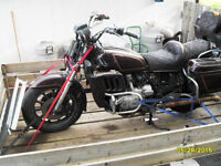83 gold wing 1100 parts bike.very rough.offers.