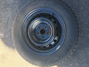 Michelin X-Ice Winter Tires with Rims Kitchener / Waterloo Kitchener Area image 3