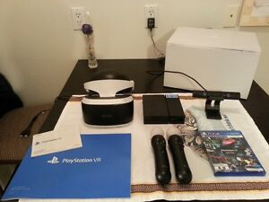 (MINT!) PLAYSTATION PS4 VR THE COMPLETE BUNDLE IN BOX