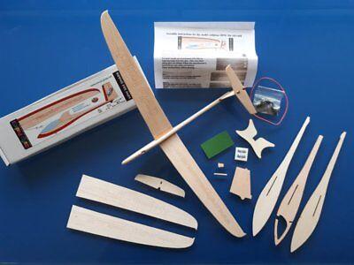 Model sailplane kit, balsawood chuck glider