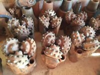 Used Tricone Drill Bits, Jets, Tungsten Carbide-Cash