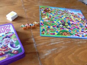 Portable candy crush board game