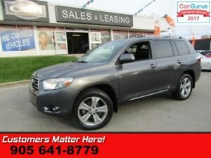 2010 Toyota Highlander Sport  AWD, LEATHER, ROOF, 7 PASS.