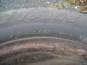 For Sale Dodge Caravan Winter tires.