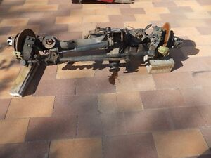 Axles from 1986 Toyota Land Cruiser 4x4 Front & Rear Heavy Duty Moose Jaw Regina Area image 3