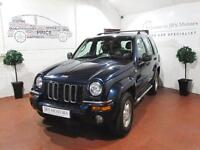 JEEP CHEROKEE 2.5 CRD Limited 5dr (blue) 2004