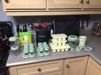 Baby Bullet food processor with extras