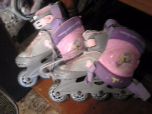 little girls roller blades